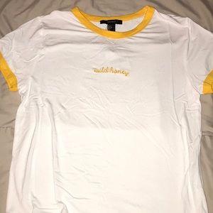 NWT Wild honey forever 21 t-shirt